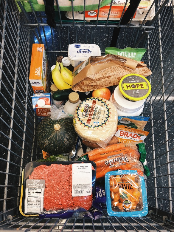 grocery list | What Robin Eats